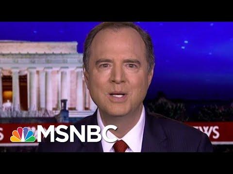 Rep. Adam Schiff: Why Wouldn't GOP Senators Want To Hear From John Bolton? | Rachel Maddow | MSNBC