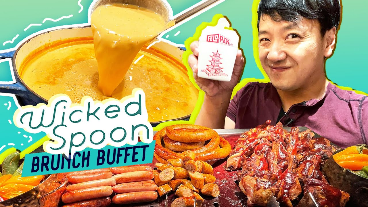 Wicked Spoon BRUNCH BUFFET Review at The COSMOPOLITAN | 3 Cities in 72 HOURS