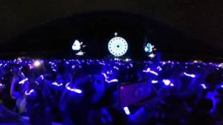 Coldplay - Everglow live in 360