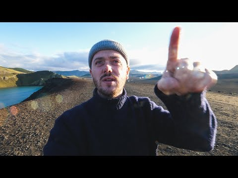 TOTAL DRONE FAIL IN ICELAND!!