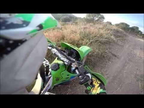 Motocross - Terrain des Arcs - 125 KDX -