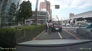 自転車がオカマを掘る瞬間