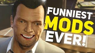 GTA 5 - CRAZIEST MODS EVER! (GTA 5 Funny Moments Compilation, Fails, Grand Theft Auto V Mods)