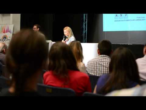 Diana Dumitrescu- mesaj pentru SFR 4.0, 2013