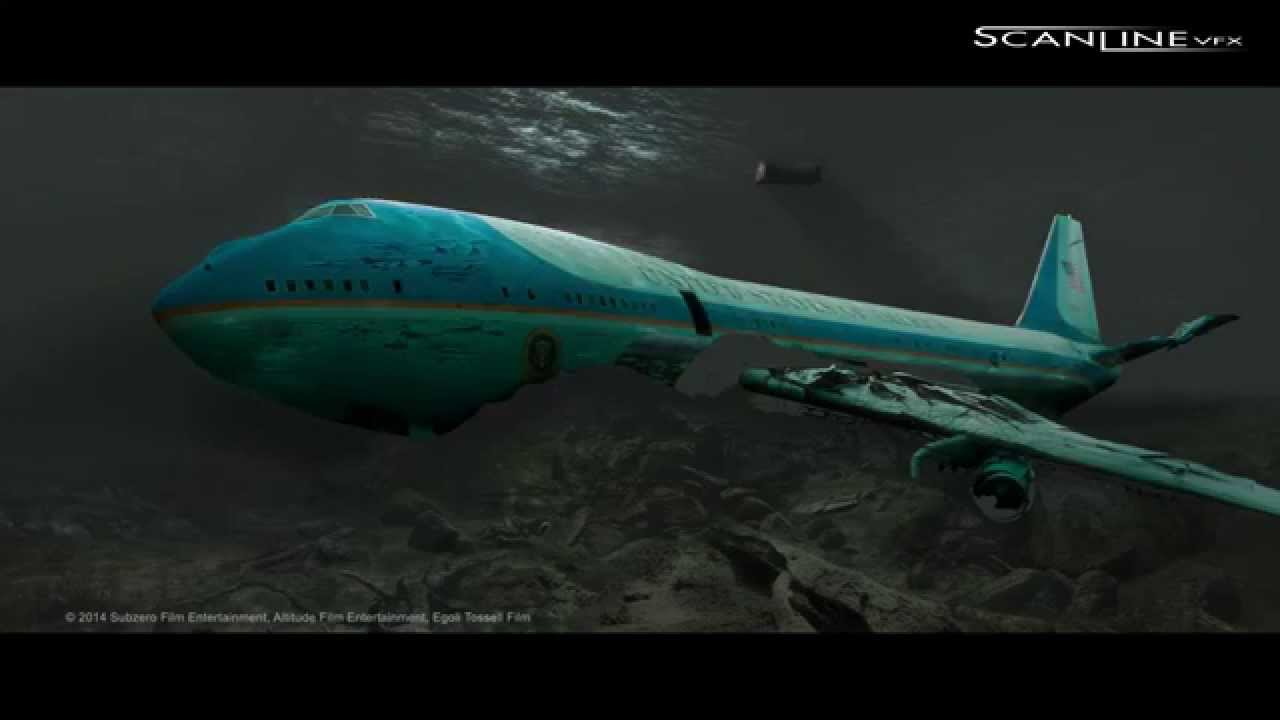 scanline vfx breakdown from big game air force one