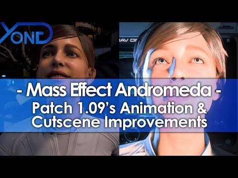 Mass Effect Andromeda, patch 1.09, Animation, Cutscene, Andromeda, Андромеда, исправления