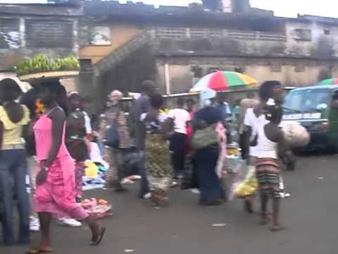 Stichting Help Sierra Leone   Freetown   Streetmarket