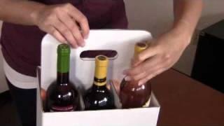 Moran Usa - Open Six Bottle Wine Carryout Instructions