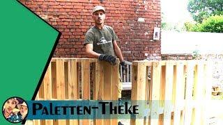 DIY Paletten-Theke