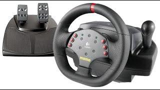 Не можемо налаштувати кермо logitech momo racing force feedback wheel , хто може допоможіть