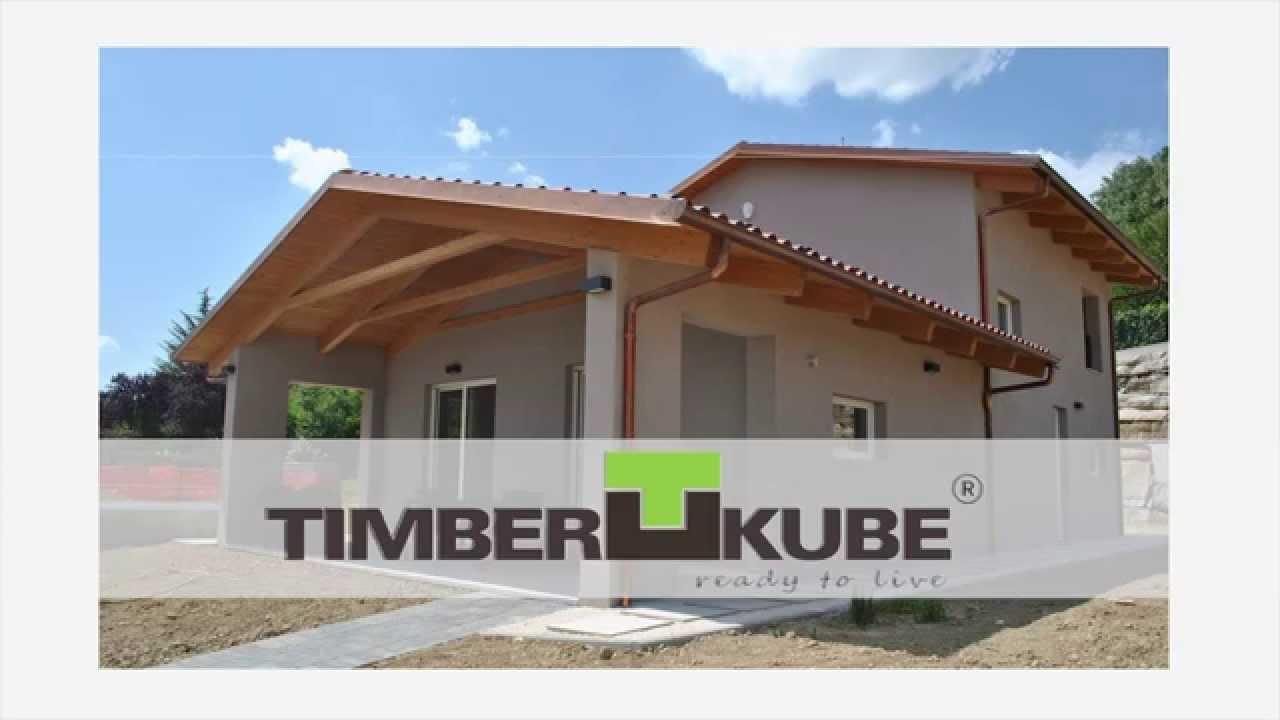 Timberkube costruzioni prefabbricate in legno youtube for Costruzioni in legno