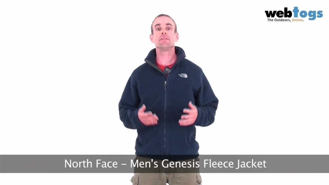 da07ecb267e North Face Men s Genesis Fleece Jacket - Serious winter warmth with this  thermal fleece.