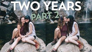 2 YEAR ANNIVERSARY TRIP (PART 2) || Lesbian Couple