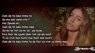 Mira - Cum de te lasa Versuri Lyrics Video