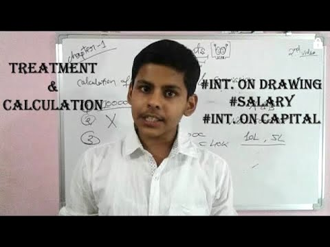 Video #2 | chapter 1 | Treatment and calculation of interest on capital, commision,  accounts