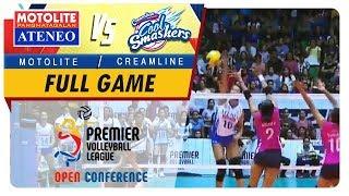 PVL OC 2018: Ateneo-Motolite vs. Creamline   Full Game   1st Set   October 28, 2018
