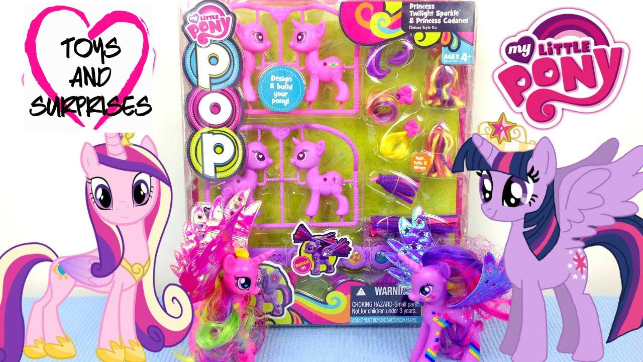 Обзор игрушек: Мой маленький пони Принцесса Каденс и ...