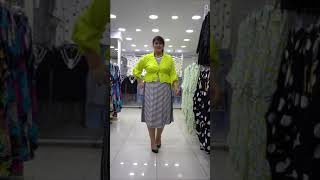 Модная женская одежда больших размеров DARKWIN от DARKMEN Турция Стамбул Опт Поставщик одежды