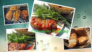 Сочный Стейк на решетке рецепт из свинины