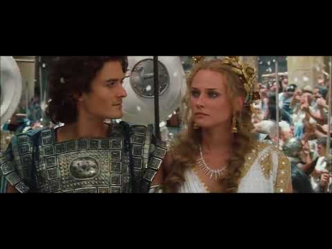 Helen arrives to Troy - Troy [Director's Cut] HD