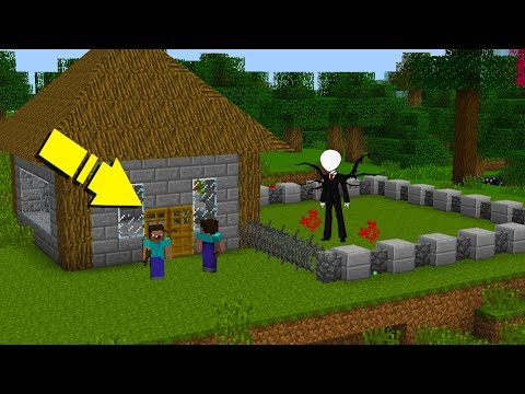 NOOB'LAR VS SLENDERMAN #1 - Minecraft Dizisi