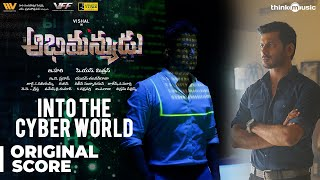 Abhimanyudu | Into the Cyber World Background Score | Vishal, Arjun | Yuvan Shankar Raja