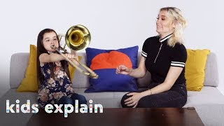 Kids Explain Music to a Deaf Person | Kids Explain | HiHo Kids