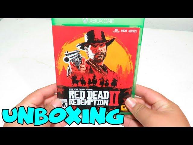 Unboxing De RED DEAD REDEMPTION 2 ! | Unboxing En Español