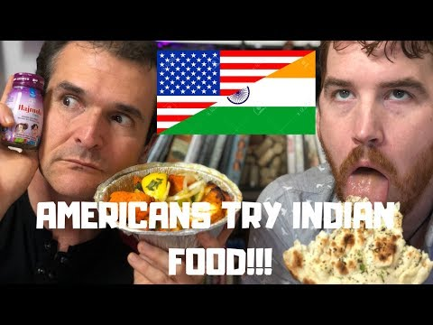 Americans Try Indian Food For The First Time!
