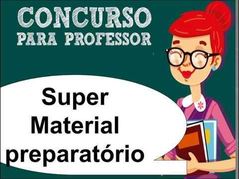 Concurso professor 2018 ldb atualizada simulados e for Concurso profesor