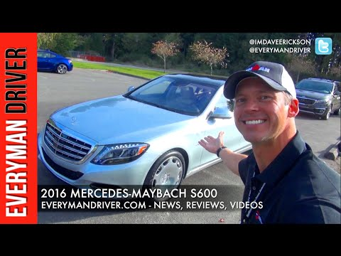 2016 Mercedes-Maybach S600 on Everyman Driver – Everyman Driver