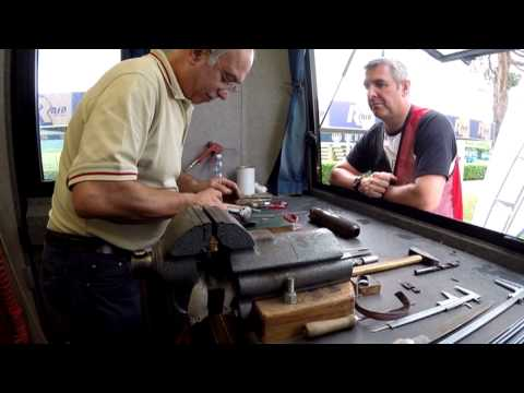 Inside the Beretta Assistance Van at Gold Cup 2014