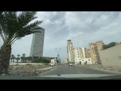 Driving around Tripoli Libya   2020