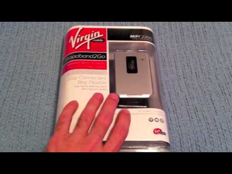 Unboxing: Virgin Mobile MiFi 2200