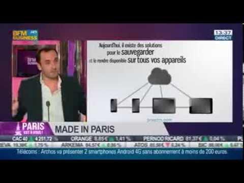 """Preezm dans """"Paris est à vous """"sur BFM Business TV et radio"""