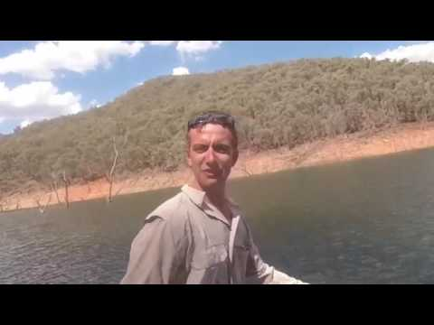 blowering dam 2017 Redfin. Double hook up 1 lure
