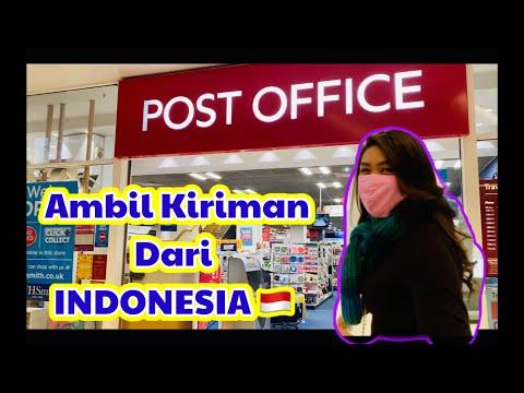 Ambil Kiriman Dari Indonesia | Kantor Post Crawley Inggris