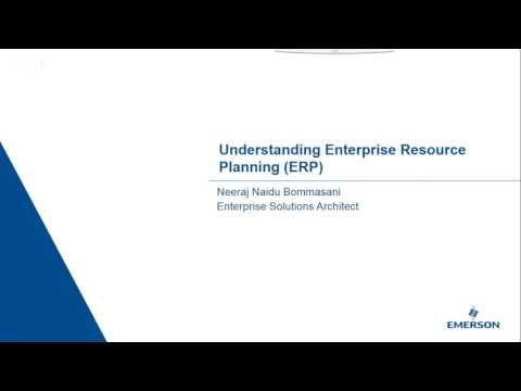 Enterprise Resource Planning – ERP 101