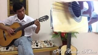 Đệm hát - Đoản Khúc Thu - Guitarist Xuân Khoa - Guitar Đà Lạt