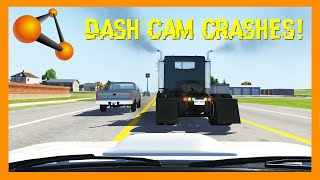 ULTIMATE Beamng Drive Dash Cam Crashes Compilation, Realistic Crashes, Epic Crashes