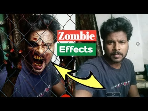 How To Create Zombies Effects On Your Photos || Zombify Photo Editor
