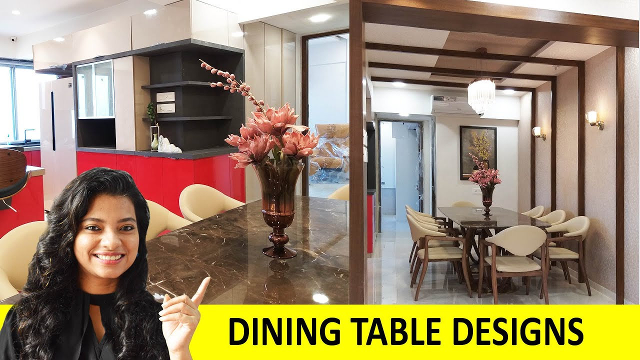 Dining Table Design | Dining Table and Chair Design Ideas | Interior Design IOSIS