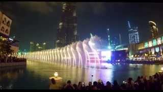 The Dubai Fountain - I Will Always Love You (Whitney Houston)
