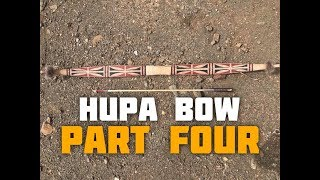 Hupa/Yurok Style Bow (Part 4 of 6)