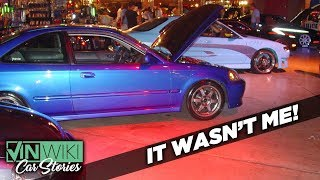 Mistaken for a street racer leaving Fast & Furious