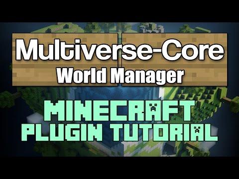 Multiverse-Core 1.11 Plugin Tutorial Minecraft
