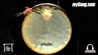"Paiste 38"" Sound Creation Gong #3B Earth (SCG0338-1092715E)"