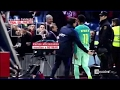 Neymar Provoke Atletico Fans with Gesture - 2 Fingers-2 Goals-2 Wins Atletico vs Barcelona 1-2