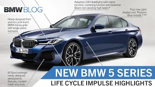 THE NEW 2021 BMW 5 Series – Highlights