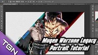 Mugen Warzone Legacy ScreenPack Character Portrait Tutorial